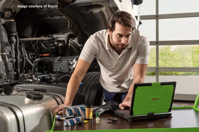 Bosch Dexatronic bus diagnostic