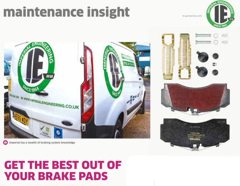 bus and coach brake pads