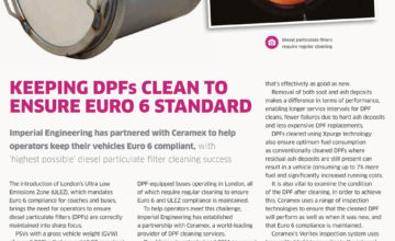 Diesel Particulate Filters (DPFs) - Bus & Coach