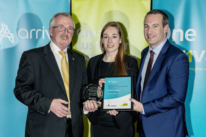 Imperial Engineering sponsors Arriva UK Bus apprenticeship awards