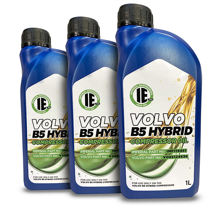 Air Brake Supplies - B5 Hybrid Compression Oil - Imperial Engineering